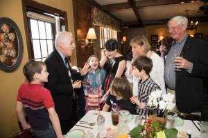 chicago magician entertains family