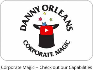 Corporate Magic entertains at trade show booths, banquets, meetings or special events.